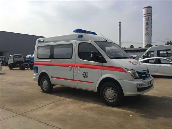 上汽大通短轴运输型救护车