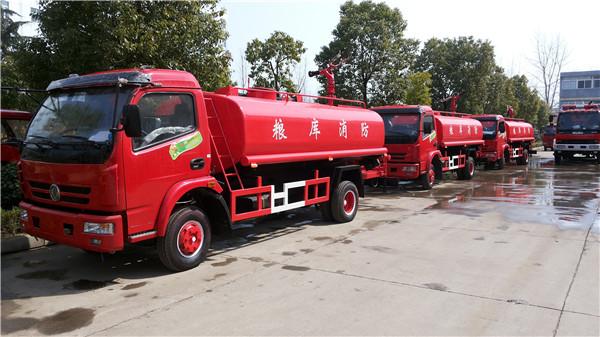 东风6吨简易消防车