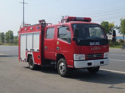 东风1.5吨水罐消防车(蓝牌)