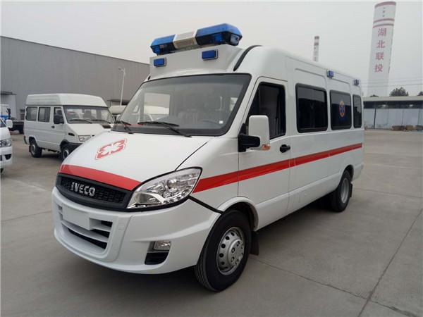 依维柯长轴监护型救护车